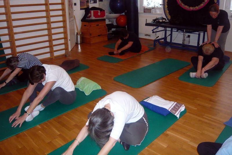 Wirbelsäulengymnastik - Mobilisation